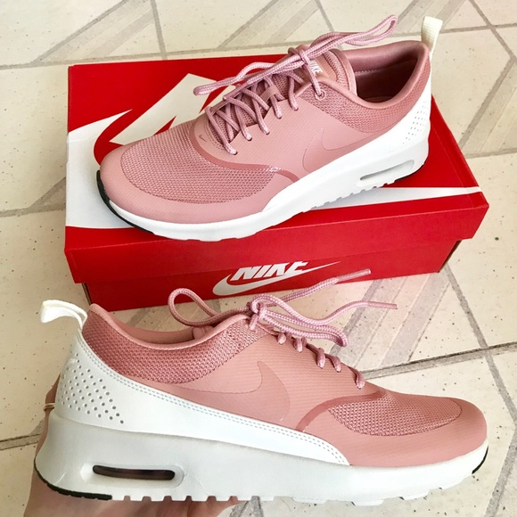 detailed look d6ef2 ece11 Nike Air Max Thea Sneaker rust pink 9